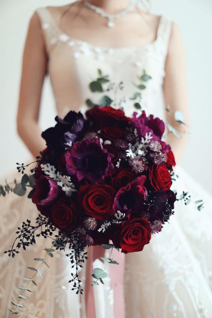 ryan & marcellina by La Bloom Florist - 004