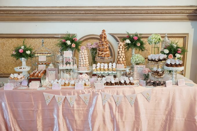 Wedding of Ade & Lisa - Jardin Sweet Corner by Questo La Casa Pastry - 002
