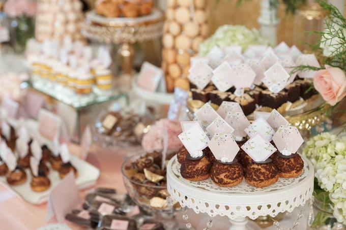 Wedding of Ade & Lisa - Jardin Sweet Corner by Questo La Casa Pastry - 004