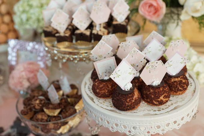 Wedding of Ade & Lisa - Jardin Sweet Corner by Questo La Casa Pastry - 009