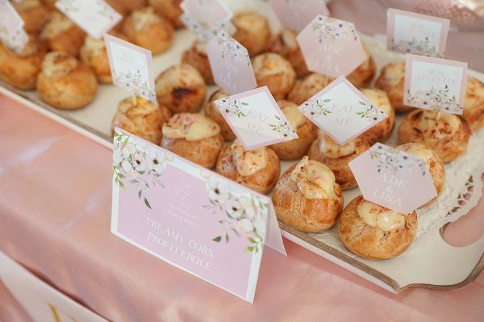 Wedding of Ade & Lisa - Jardin Sweet Corner by Questo La Casa Pastry - 010