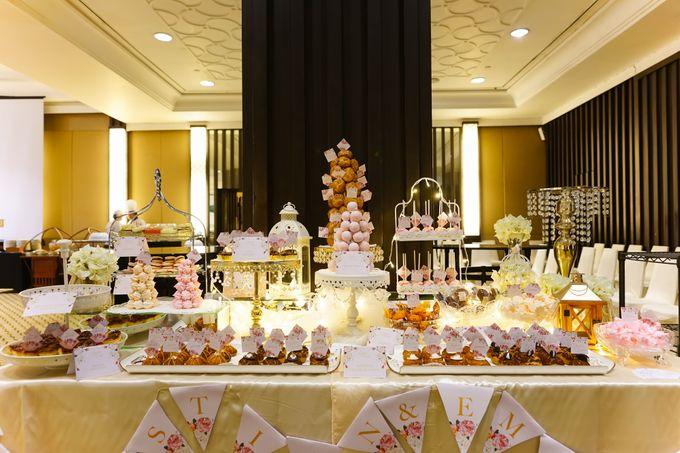 Wedding of Christian & Emilia - Suede Sweet Corner by Questo La Casa Pastry - 002
