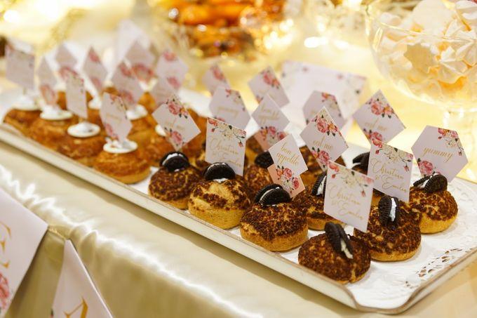 Wedding of Christian & Emilia - Suede Sweet Corner by Questo La Casa Pastry - 004