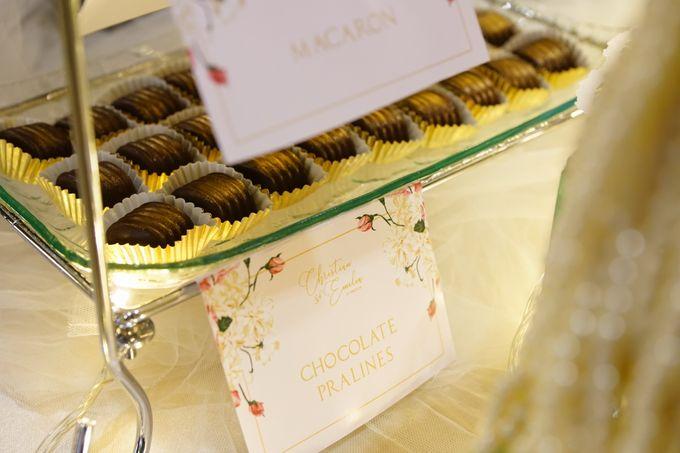 Wedding of Christian & Emilia - Suede Sweet Corner by Questo La Casa Pastry - 011