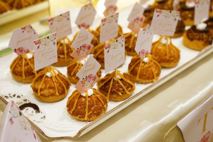 Wedding of Christian & Emilia - Suede Sweet Corner by Questo La Casa Pastry - 012