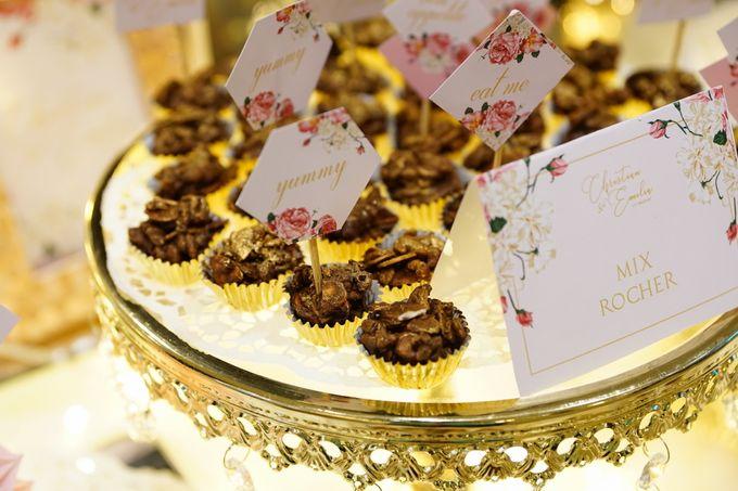 Wedding of Christian & Emilia - Suede Sweet Corner by Questo La Casa Pastry - 015