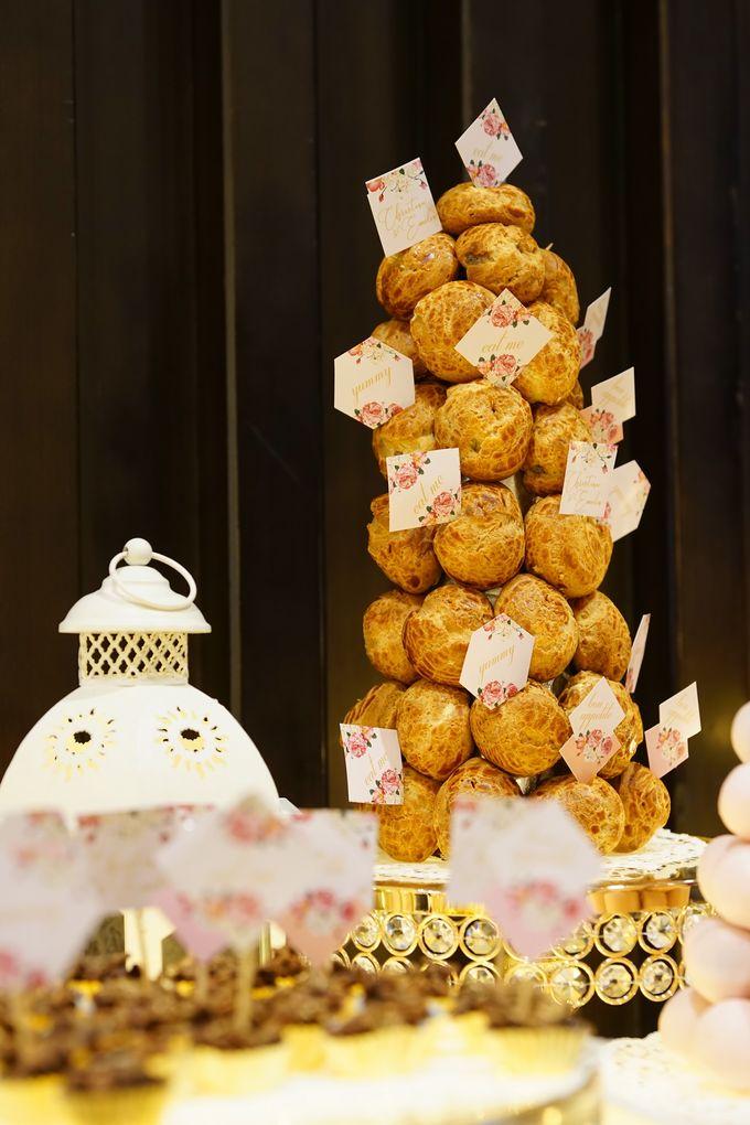 Wedding of Christian & Emilia - Suede Sweet Corner by Questo La Casa Pastry - 016