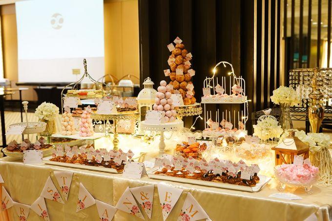 Wedding of Christian & Emilia - Suede Sweet Corner by Questo La Casa Pastry - 017