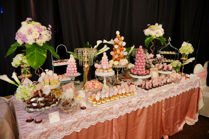 Wedding of Yongki & Indhira - Jardin Sweet Corner by Questo La Casa Pastry - 002