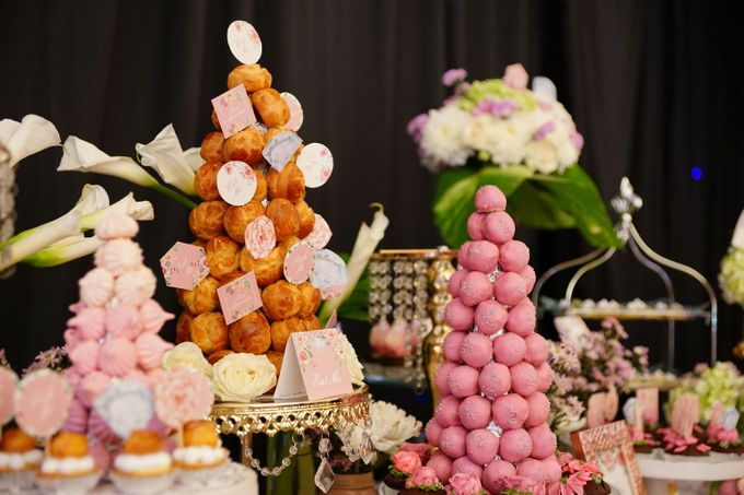 Wedding of Yongki & Indhira - Jardin Sweet Corner by Questo La Casa Pastry - 004
