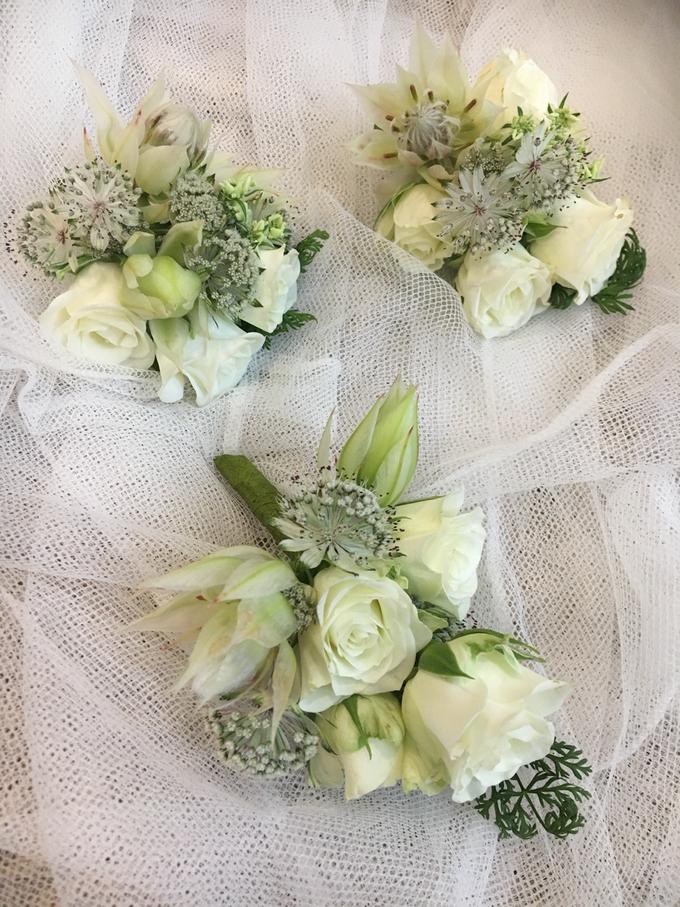 Bride P's wedding  by La Fleur Société - 003