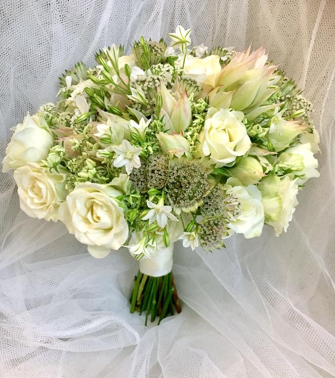 Bride P's wedding  by La Fleur Société - 001