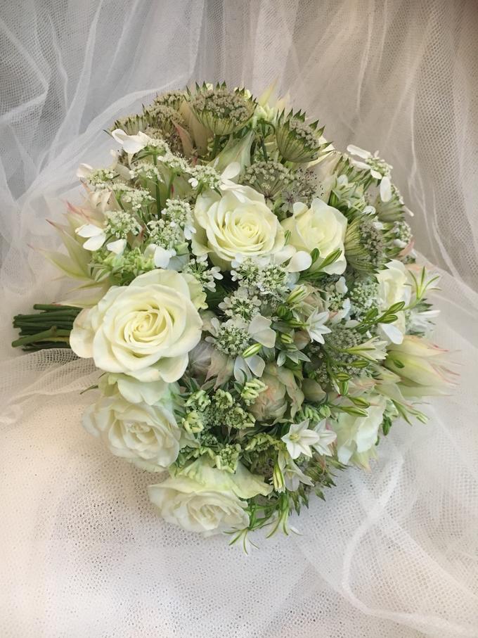Bride P's wedding  by La Fleur Société - 004