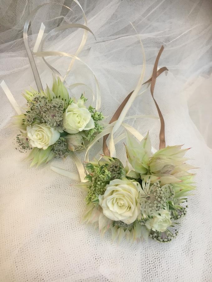 Bride P's wedding  by La Fleur Société - 002