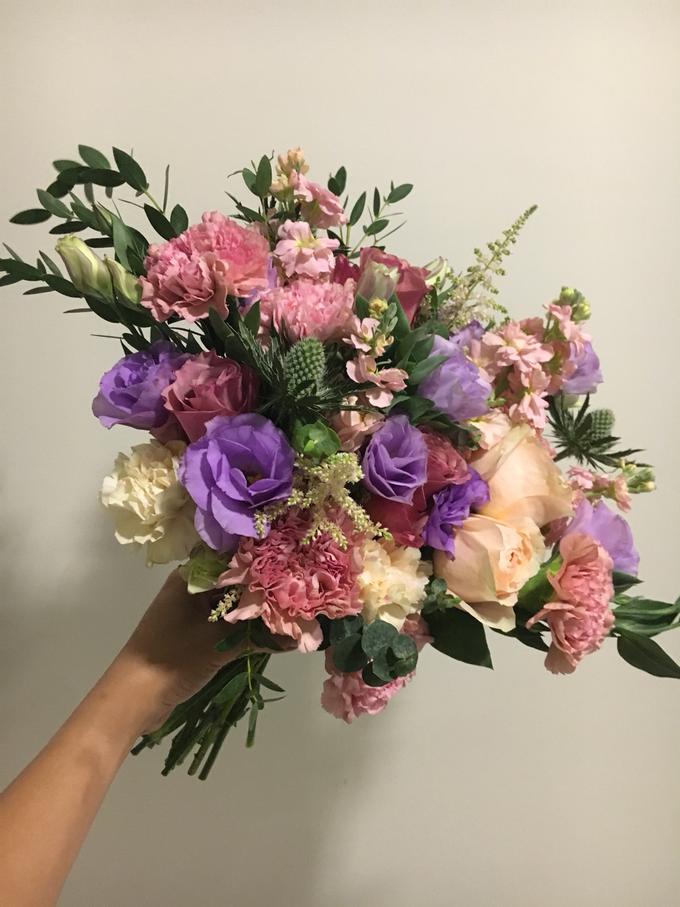 Premium Bridal Bouquet  by La Fleur Société - 015