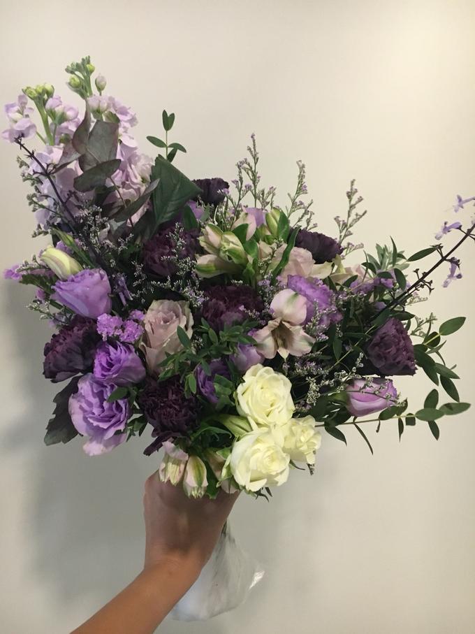Premium Bridal Bouquet  by La Fleur Société - 019