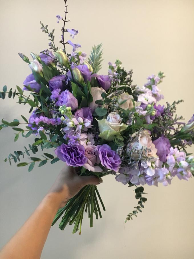 Premium Bridal Bouquet  by La Fleur Société - 018