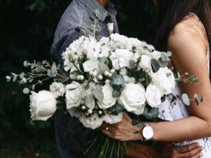 Premium Bridal Bouquet  by La Fleur Société - 017