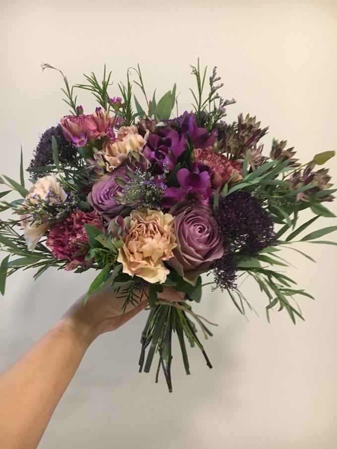 Premium Bridal Bouquet  by La Fleur Société - 022