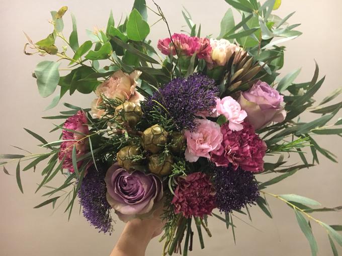Premium Bridal Bouquet  by La Fleur Société - 021