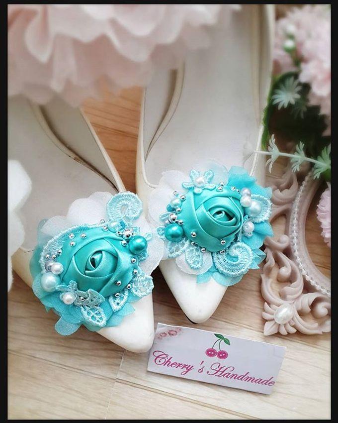 Flowery Shoeclips by Cherry's  Handmade - 006