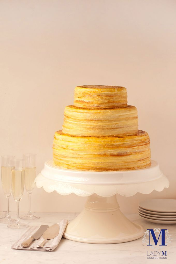 Lady M Wedding Mille Crepes by Lady M® Confections Singapore - 001