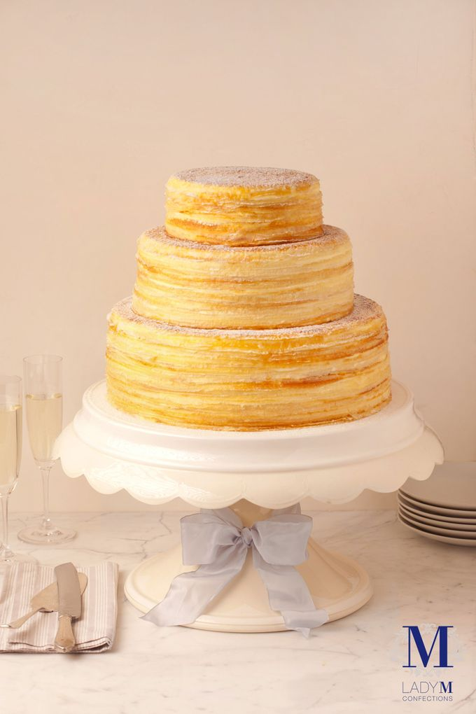 Lady M Wedding Mille Crepes by Lady M® Confections Singapore - 003