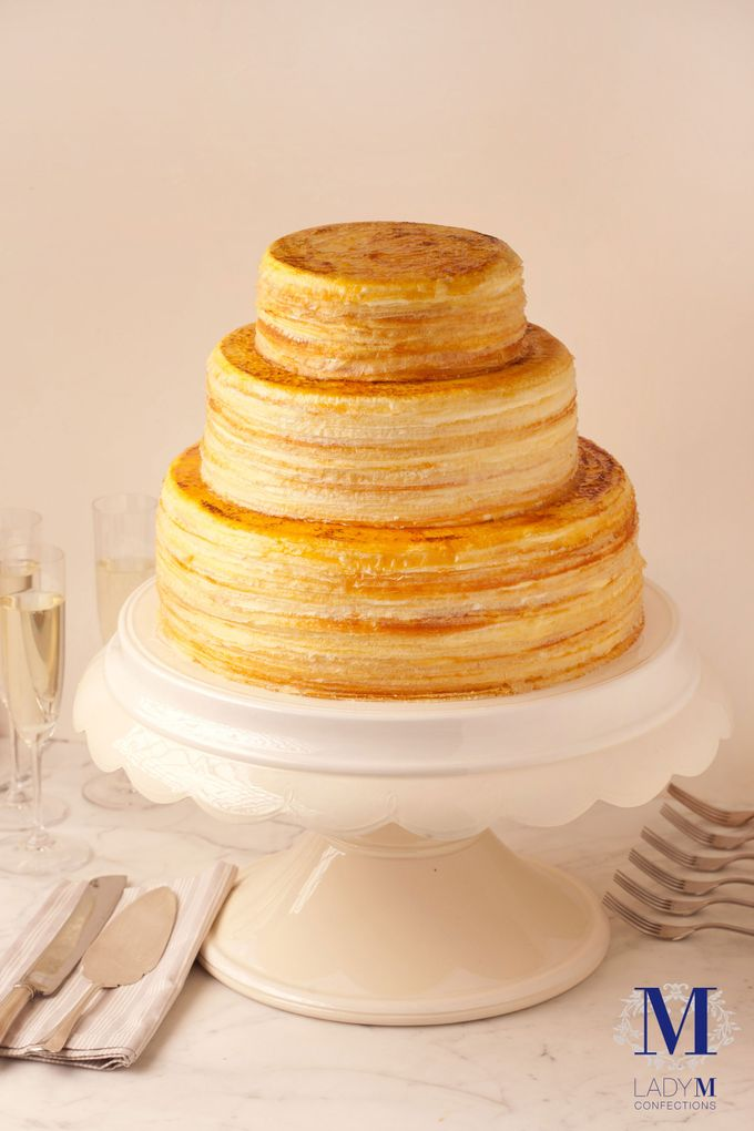 Lady M Wedding Mille Crepes by Lady M® Confections Singapore - 002