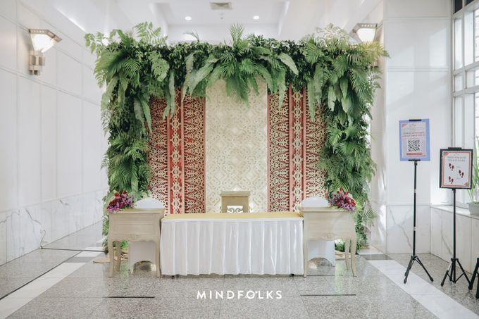 Foyer Decoration Inspiration for New Normal Wedding by Skenoo Hall Emporium Pluit by IKK Wedding - 010