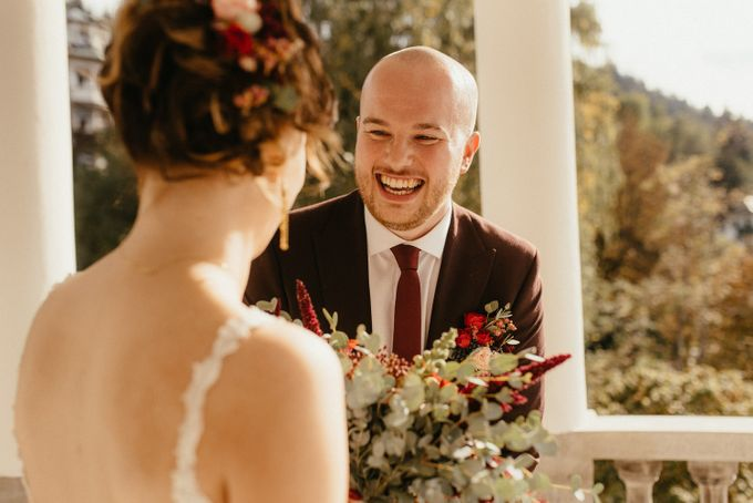 Amazing Fall Lake Bled Elopement by Lake Bled wedding planner Petra Starbek - 002