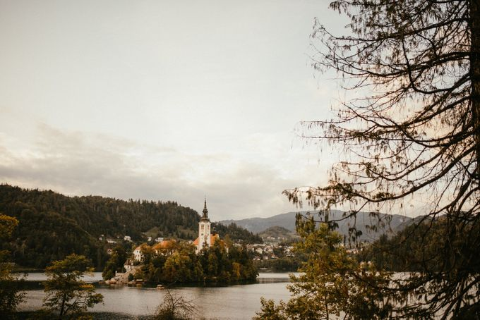 Amazing Fall Lake Bled Elopement by Lake Bled wedding planner Petra Starbek - 007