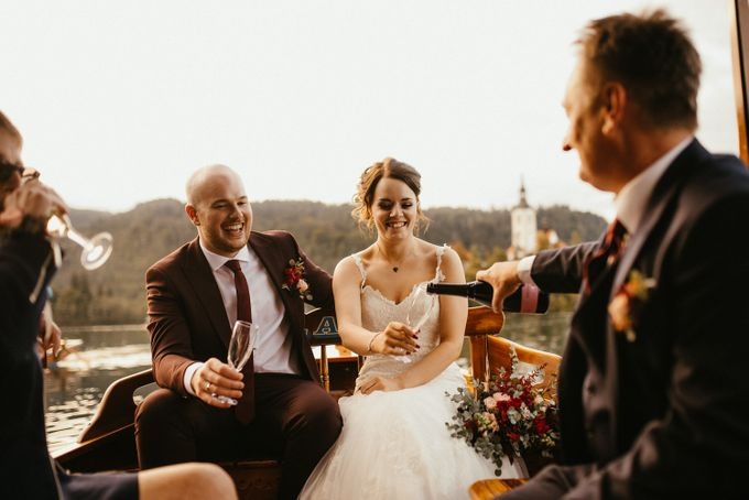 Amazing Fall Lake Bled Elopement by Lake Bled wedding planner Petra Starbek - 006