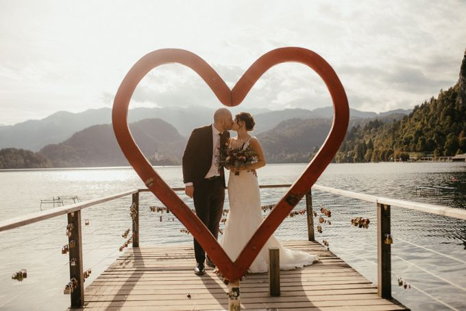 Amazing Fall Lake Bled Elopement by Lake Bled wedding planner Petra Starbek - 003