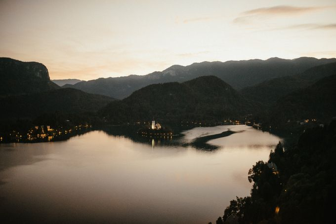 Amazing Fall Lake Bled Elopement by Lake Bled wedding planner Petra Starbek - 009