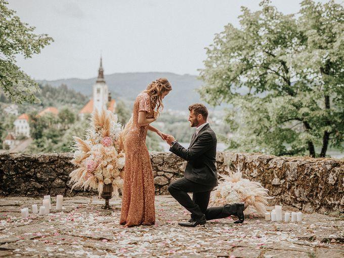Surprise Lake Bled Marriage Proposal by Lake Bled wedding planner Petra Starbek - 002