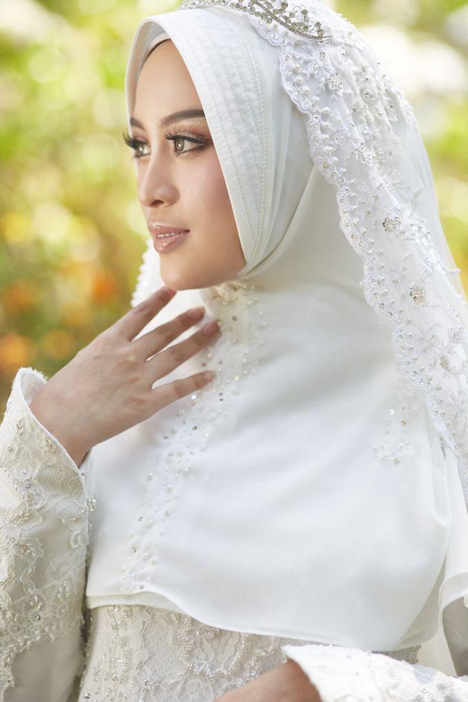 Akad Hijrah Series 01 Busana Syari Akad by LAKSMI - Kebaya Muslimah & Islamic Bride - 002