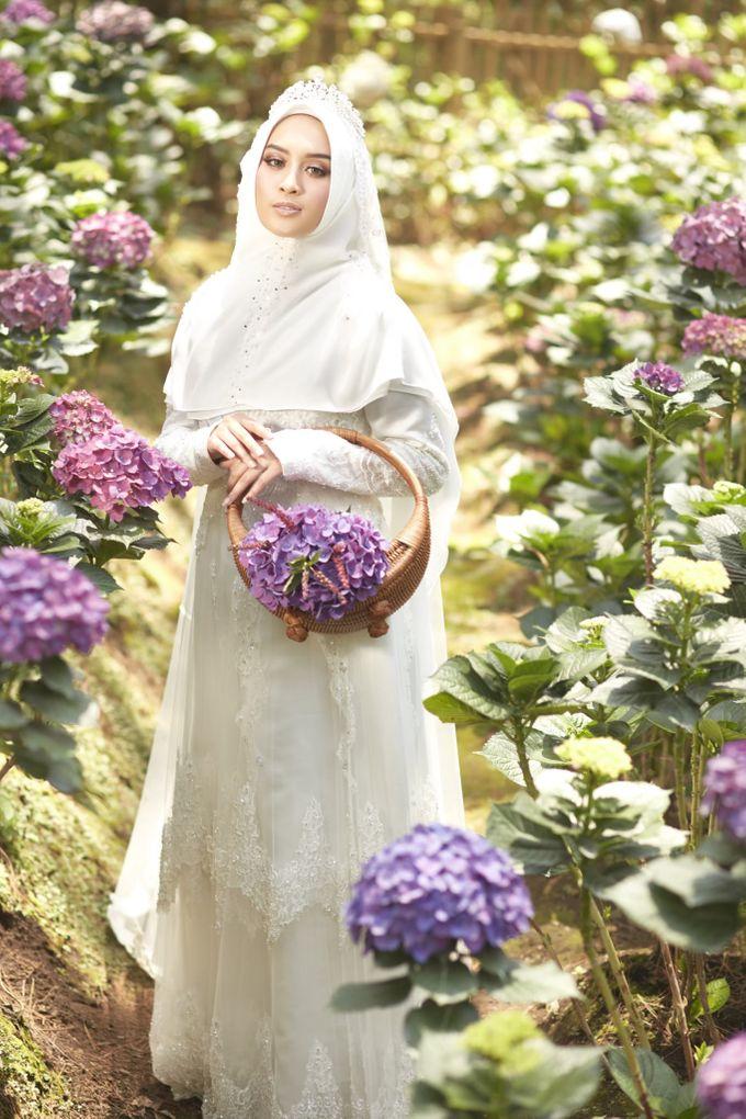 Akad Hijrah Series 01 Busana Syari Akad by LAKSMI - Kebaya Muslimah & Islamic Bride - 008