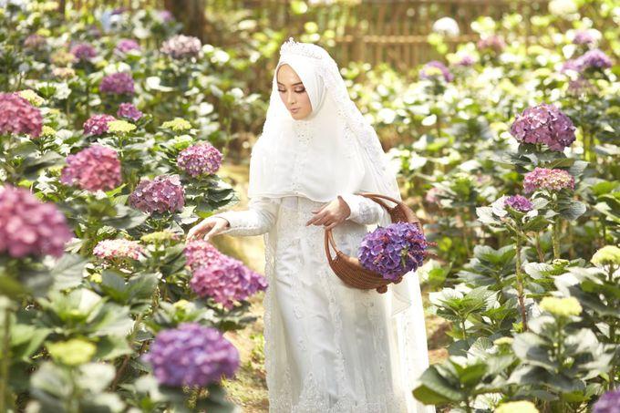 Akad Hijrah Series 01 Busana Syari Akad by LAKSMI - Kebaya Muslimah & Islamic Bride - 009