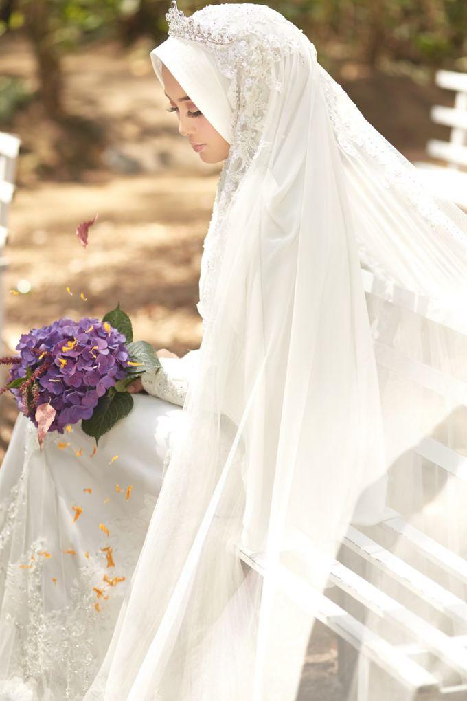 Akad Hijrah Series 01 Busana Syari Akad by LAKSMI - Kebaya Muslimah & Islamic Bride - 012