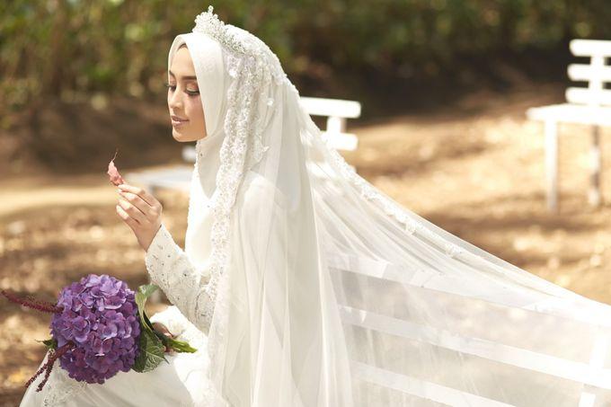 Akad Hijrah Series 01 Busana Syari Akad by LAKSMI - Kebaya Muslimah & Islamic Bride - 013