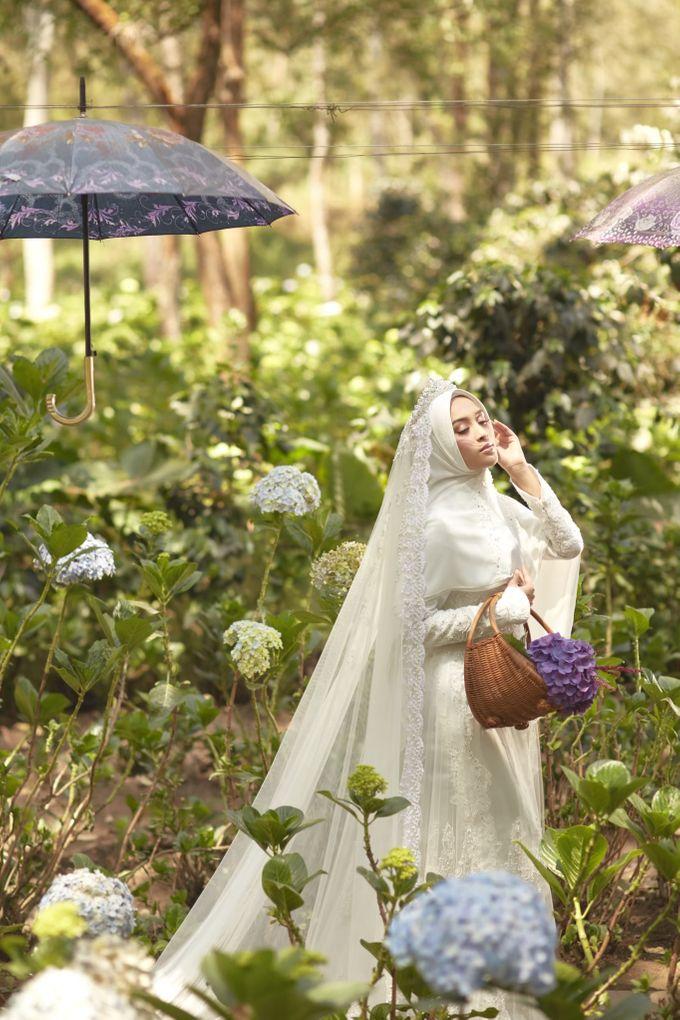 Akad Hijrah Series 01 Busana Syari Akad by LAKSMI - Kebaya Muslimah & Islamic Bride - 010
