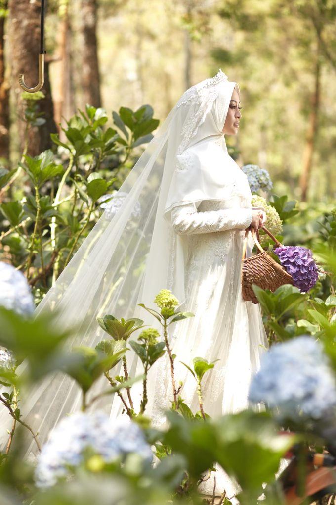 Akad Hijrah Series 01 Busana Syari Akad by LAKSMI - Kebaya Muslimah & Islamic Bride - 011