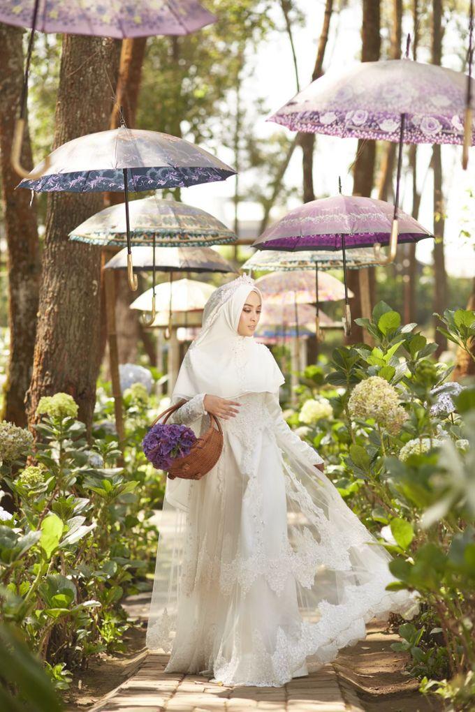 Akad Hijrah Series 01 Busana Syari Akad by LAKSMI - Kebaya Muslimah & Islamic Bride - 007