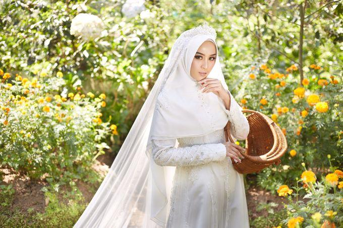 Akad Hijrah Series 01 Busana Syari Akad by LAKSMI - Kebaya Muslimah & Islamic Bride - 003