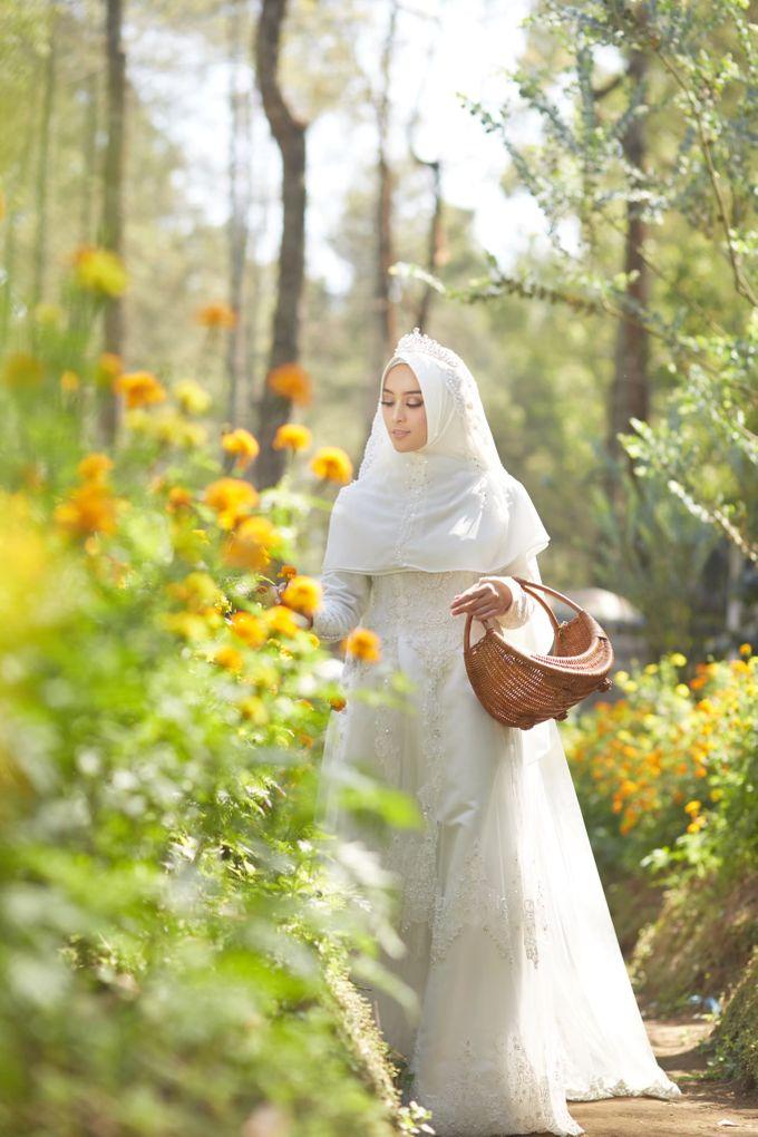 Akad Hijrah Series 01 Busana Syari Akad by LAKSMI - Kebaya Muslimah & Islamic Bride - 004