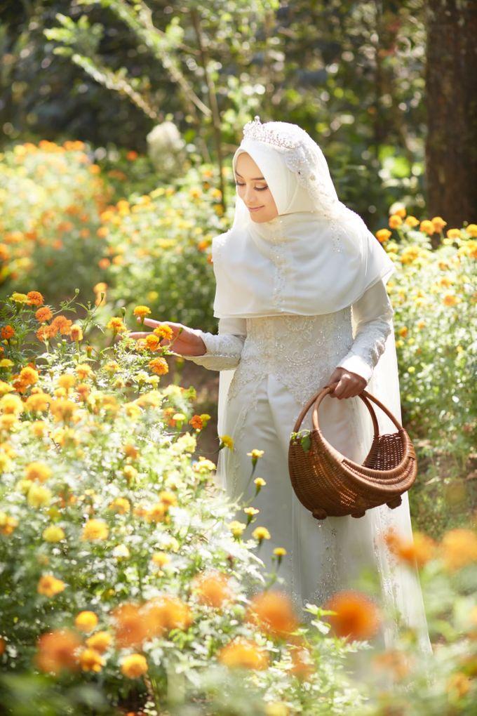 Akad Hijrah Series 01 Busana Syari Akad by LAKSMI - Kebaya Muslimah & Islamic Bride - 005
