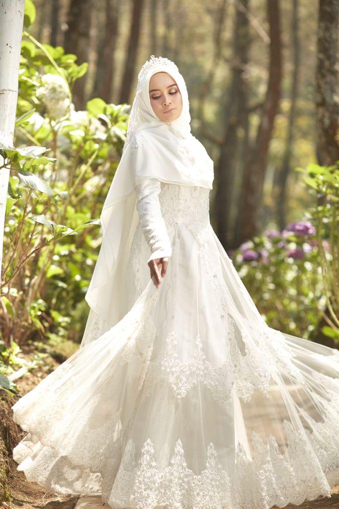 Akad Hijrah Series 01 Busana Syari Akad by LAKSMI - Kebaya Muslimah & Islamic Bride - 014