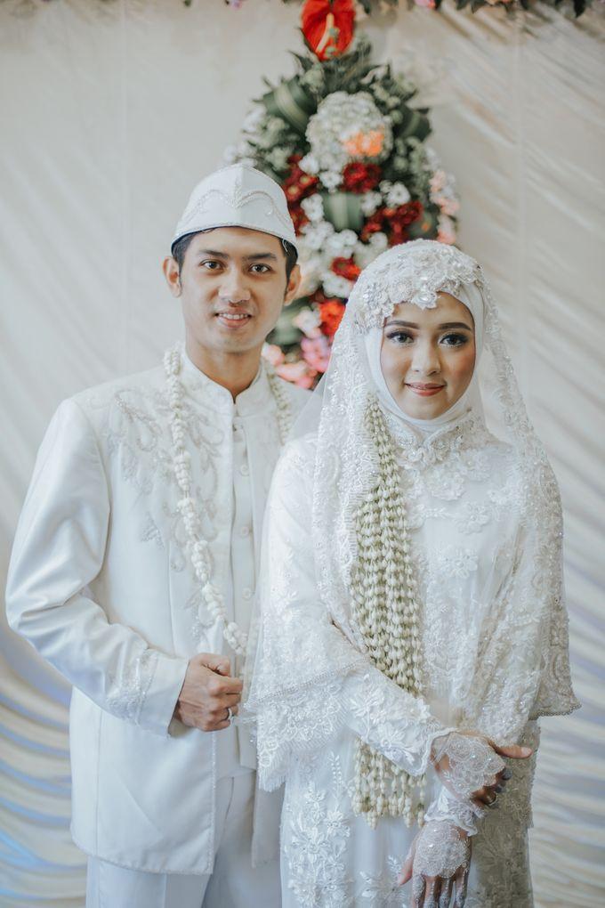 Kebaya Akad Nikah Syari Lilis Ardi Wedding By Laksmi 0817 0370