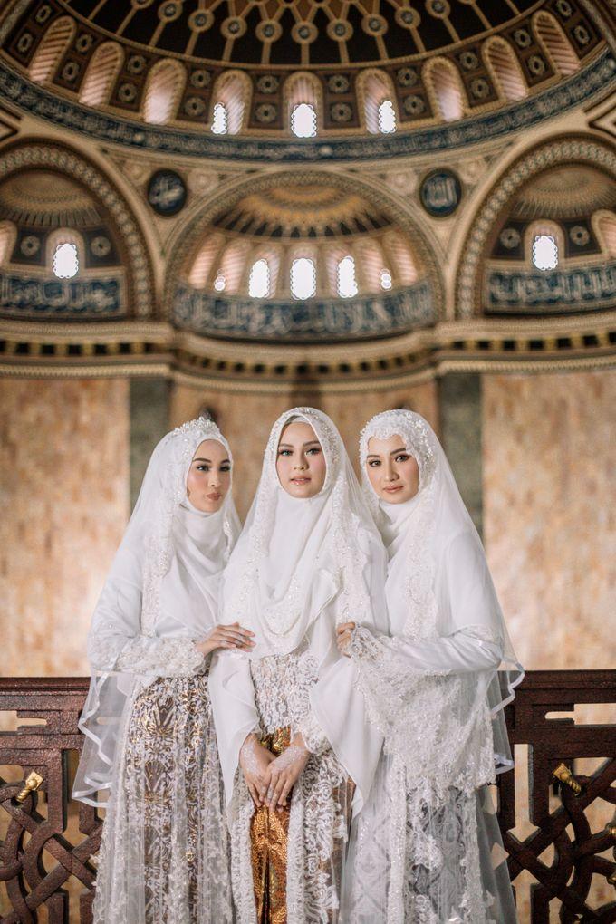 Dress Kebaya Akad Gamis Ottoman Series by LAKSMI - Kebaya Muslimah & Islamic Bride - 005