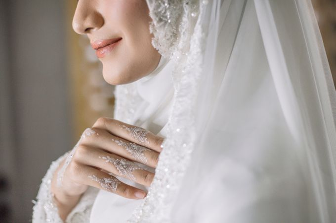 Dress Kebaya Akad Gamis Ottoman Series by LAKSMI - Kebaya Muslimah & Islamic Bride - 007